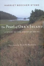 Cover of: The pearl of Orr's Island: a story of the coast of Maine