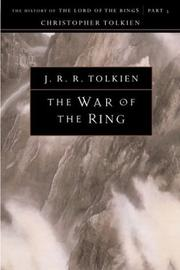 Cover of: The War of the Ring | J.R.R. Tolkien