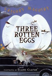 Cover of: Three rotten eggs