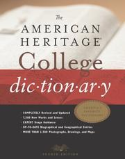Cover of: The American Heritage® College Dictionary | Editors of The American Heritage Dictionaries
