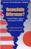 Cover of: Reconcilable differences?