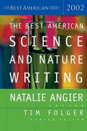Cover of: The best American science and nature writing, 2002 by
