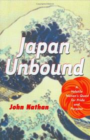 Cover of: Japan Unbound | John Nathan