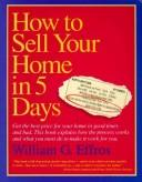 Cover of: How to sell your home in 5 days