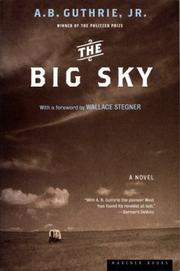 Cover of: The Big Sky