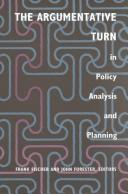 Cover of: The Argumentative turn in policy analysis and planning |
