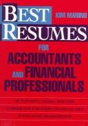 Cover of: Best resumes for accountants and financial professionals