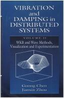 Cover of: Vibration and damping in distributed systems | Goong Chen