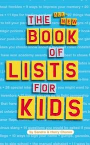 Cover of: The all-new book of lists for kids