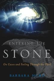Cover of: Entering the Stone | Barbara Hurd