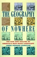 Cover of: The Geography of nowhere