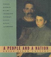 Cover of: A People and a Nation | David M. Katzman