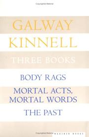 Cover of: Poems: body rags : mortal acts, mortal words : the past