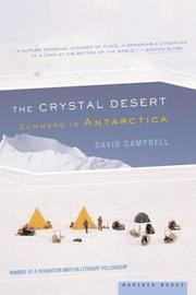 The Crystal Desert by David G. Campbell