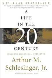an introduction to the life and history of arthur m schlesinger The age of jackson by arthur m schlesinger, jr hen american democracy is most kinetic, when its transitions are most abrupt, and when its ideas take on their most revolutionary hue, then it is best worth studying.