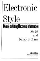 Cover of: Electronic style
