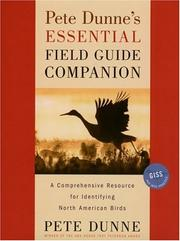 Cover of: Pete Dunne's essential field guide companion