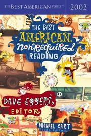 Cover of: The best American nonrequired reading, 2002 |