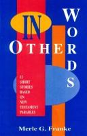 Cover of: In other words-- | Franke, Merle G.