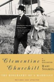 Cover of: Clementine Churchill