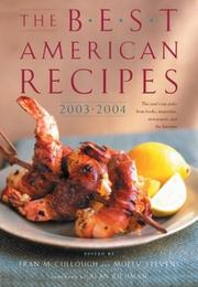 Cover of: The best American recipes 2003-2004 |