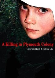 Cover of: A killing in Plymouth Colony