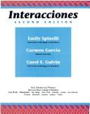 Cover of: Interacciones | Emily Spinelli