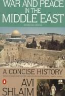 Cover of: War and peace in the Middle East | Avi Shlaim