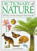 Cover of: Dictionary of Nature