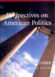 Cover of: Perspectives on American politics |