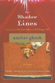 Cover of: The shadow lines