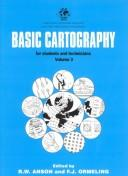 Cover of: Basic cartography for students and technicians