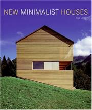 Cover of: New Minimalist Houses | Anja Llorella