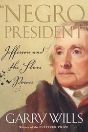 Cover of: Negro president | Garry Wills