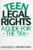 Cover of: Teen legal rights