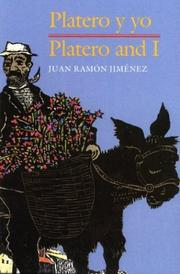 Cover of: Platero y Yo/Platero and I paperback Bilingual Spanish/English