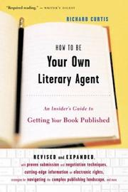 Cover of: How to be your own literary agent