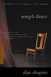 Cover of: Song and Dance | Alan Shapiro