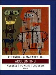 Cover of: Financial Managerial Accounting 2005 | Belverd E. Needles