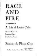 Cover of: Rage and fire