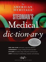 Cover of: The American Heritage Stedman