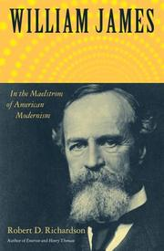 Cover of: William James | Robert D. Richardson