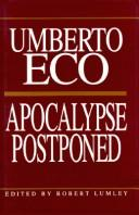 Cover of: Apocalypse postponed