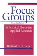 Cover of: Focus groups