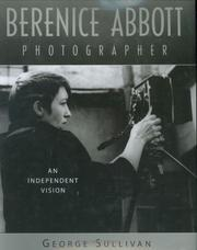 Cover of: Berenice Abbott, photographer | Sullivan, George
