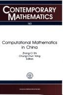 Cover of: Computational mathematics in China |