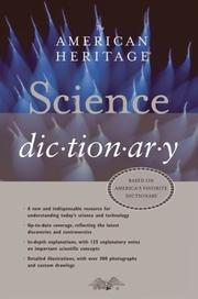 Cover of: The American Heritage Science Dictionary | Editors of The American Heritage Dictionaries