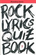 Cover of: Rock lyrics quiz book