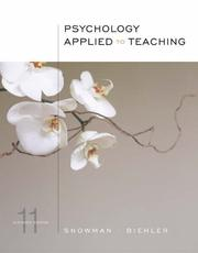 Cover of: Psychology applied to teaching