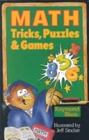 Cover of: Math tricks, puzzles & games | Raymond Blum